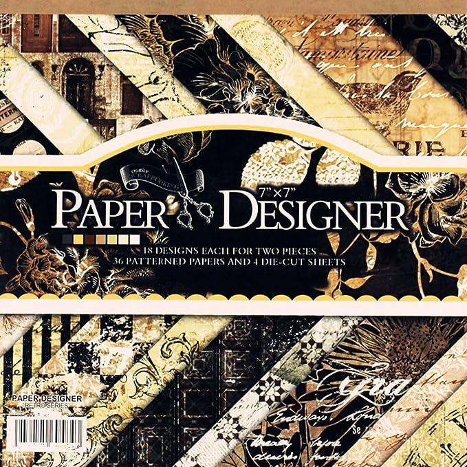 Vintage Flower Origami Paper 14.5x14.5cm,Craft Scrapbooking Paper  Pretty Best