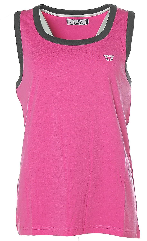 Leopard Damen Sportswear Sport Top Tanktop -Venice