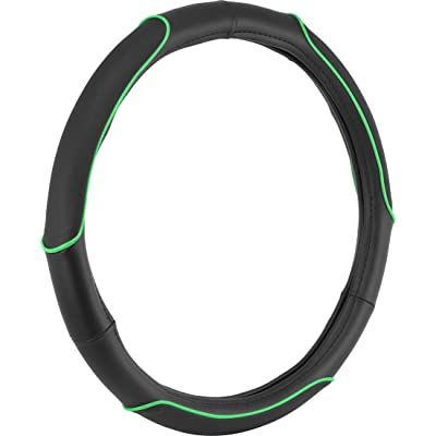 Bell Automotive 22-1-97041-9 Universal Apex Hyper-Flex Core Steering Wheel Cover, Green: Automotive