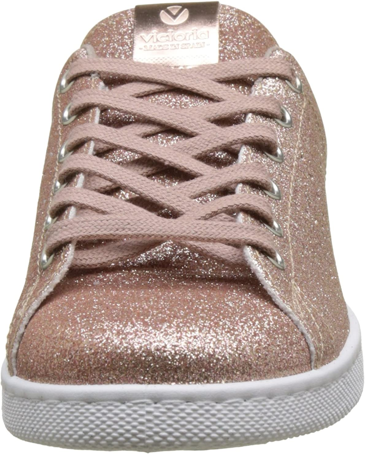 Victoria Deportivo Glitter, Baskets Mixte Adulte Rose Rosa