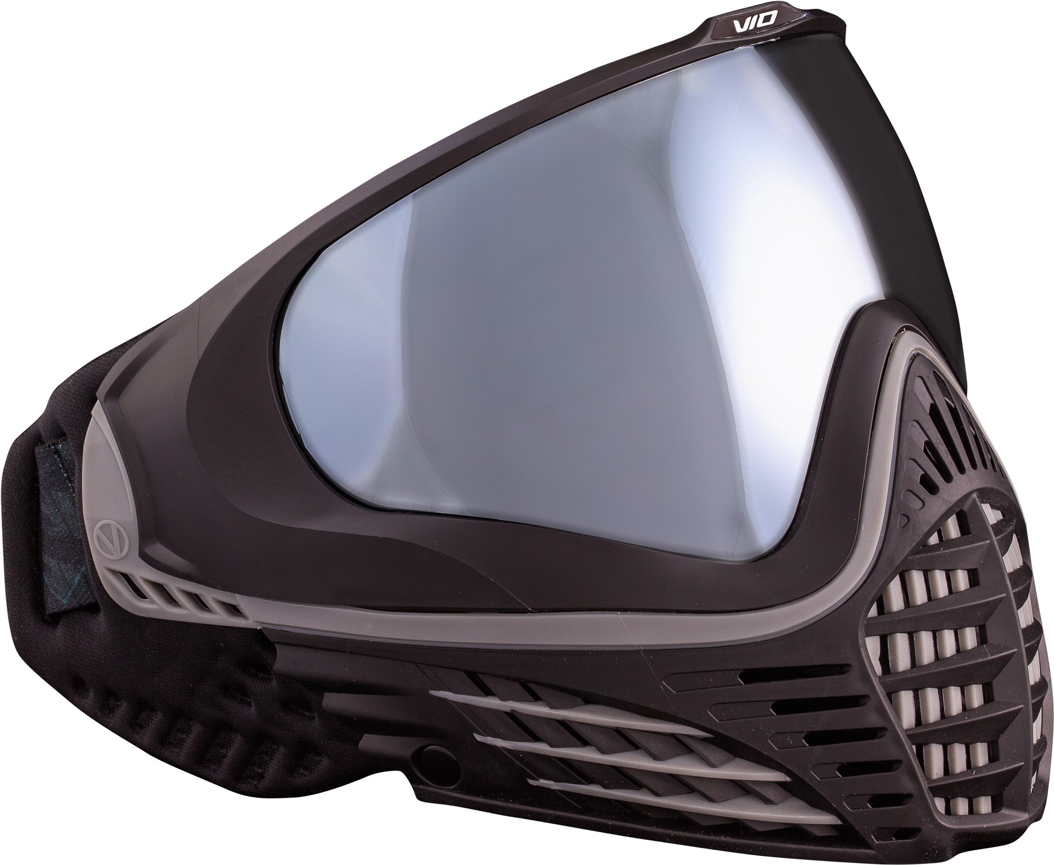 Virtue VIO Contour Thermal Paintball Goggles/Masks - Black Silver by Virtue Paintball