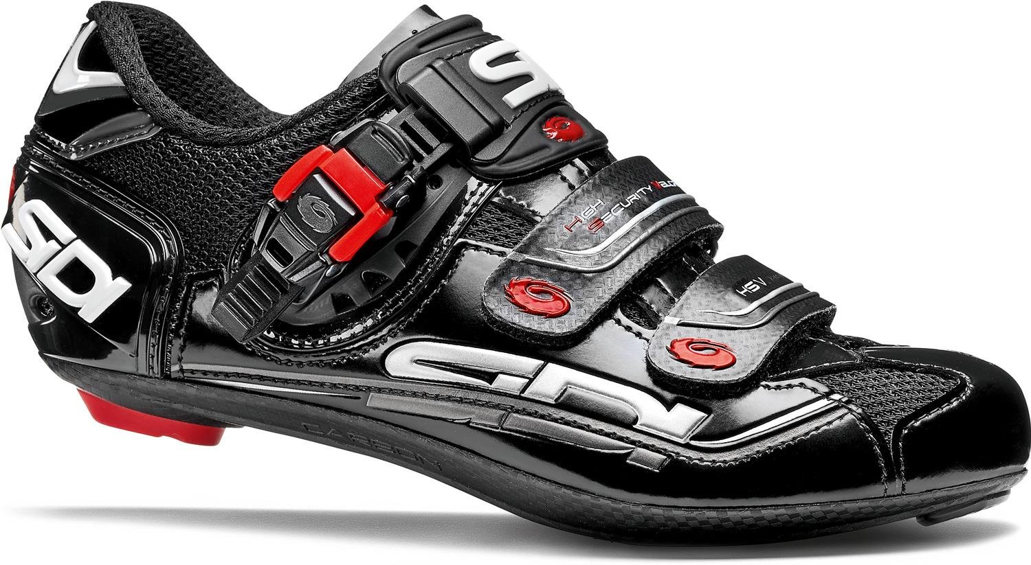 Sidi Genius 7 Carbon Cycling Shoe - Men's Black, 41.5 by Sidi
