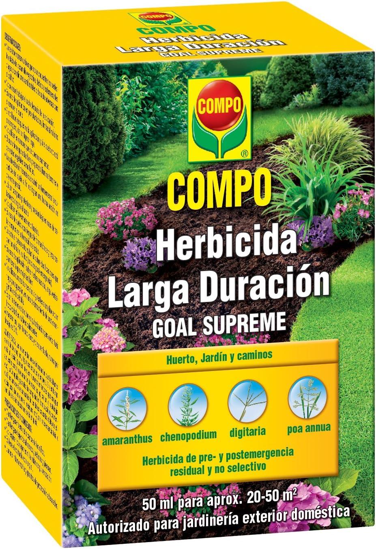 Compo 2036502011 Herbicida Larga Duración 50ml, 10x7.2x5 cm: Amazon.es: Jardín