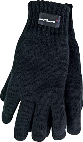 Boys Kids Thinsulate 3M 40 gram Thermal Insulation Thin Knitted Winter Gloves