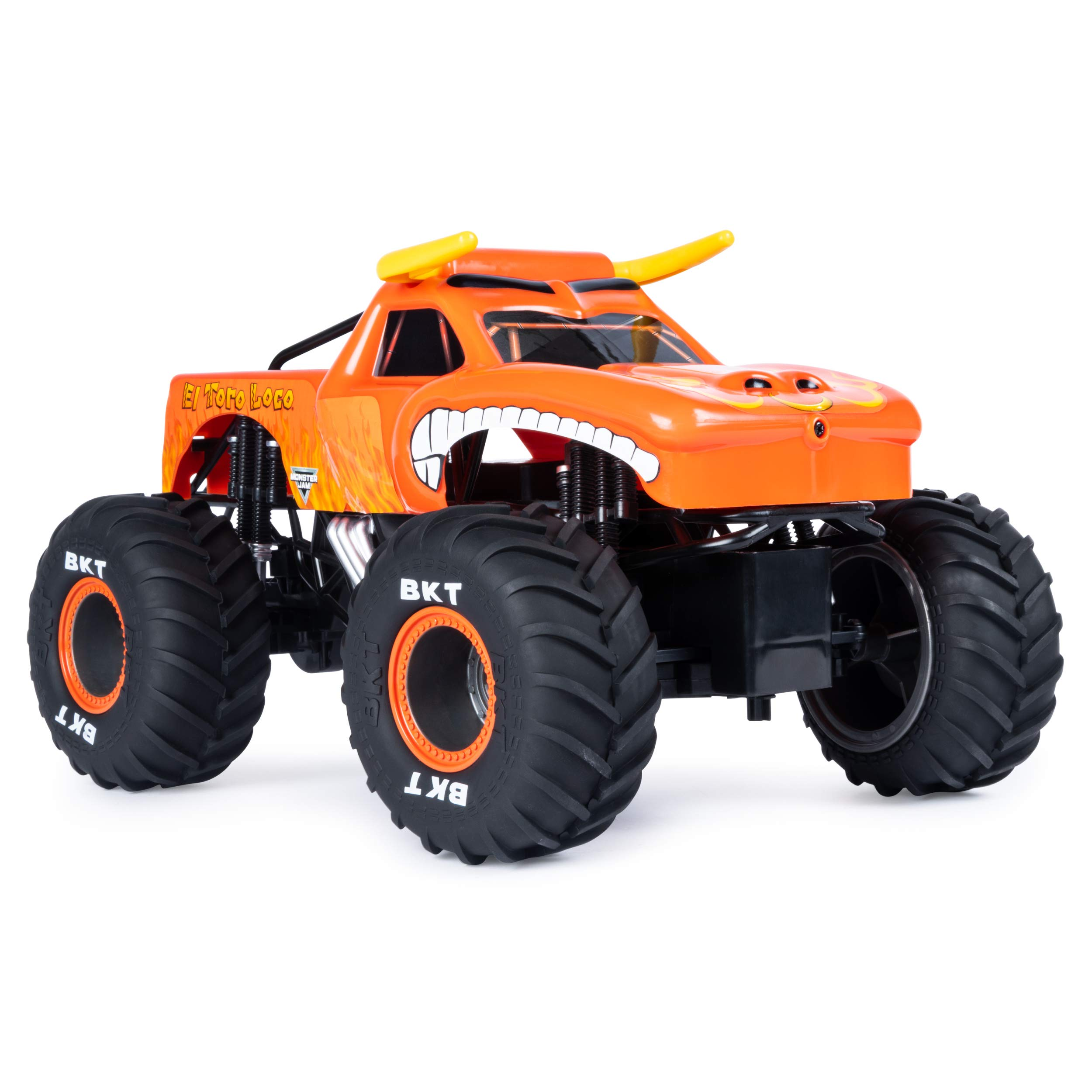 Monster Jam Official El Toro Loco Remote Control Monster Truck, 1:15 Scale, 2.4 GHz by Monster Jam (Image #4)