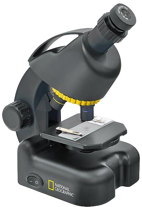 Microscopio National Geographic 40-640x con Soporte para Smartphone: Amazon.es: Industria, empresas y ciencia