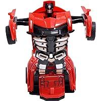 Toyzrin Converting Car to Robot Transformer for Kids - Manually Convert from CAR to Robot ( Random Colour )