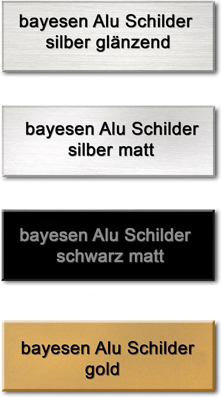 wunsch Gravur Briefkastenschilder incl Aluminium Namensschilder T/ürschilder Klingelschilder