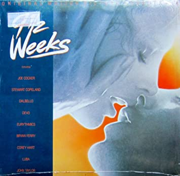 9 12 Weeks 1986 Vinyl Lp John Taylor Joe Cocker Dalbello