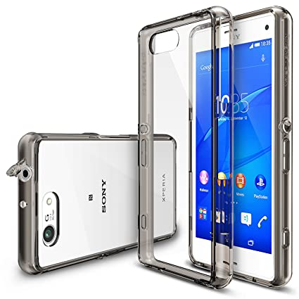 sony xperia z3 compact. Xperia Z3 Compact Case, Ringke [Fusion] Crystal Clear PC Back TPU Bumper W Sony P