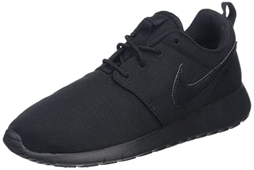 cheaper 5f1bc f0a7f Nike Roshe One (Gs), Zapatillas Unisex Niños, Negro (Black   Black