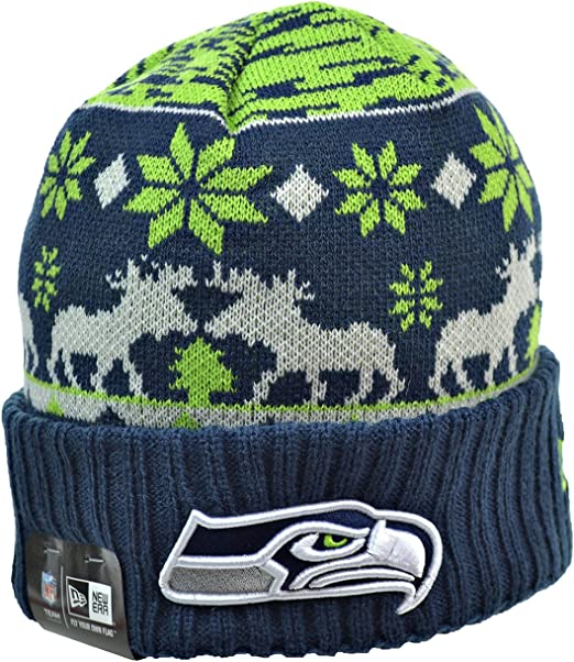 best website official photos newest collection Amazon.com: New Era Team Mooser Seattle Seahawks Navy One Size ...