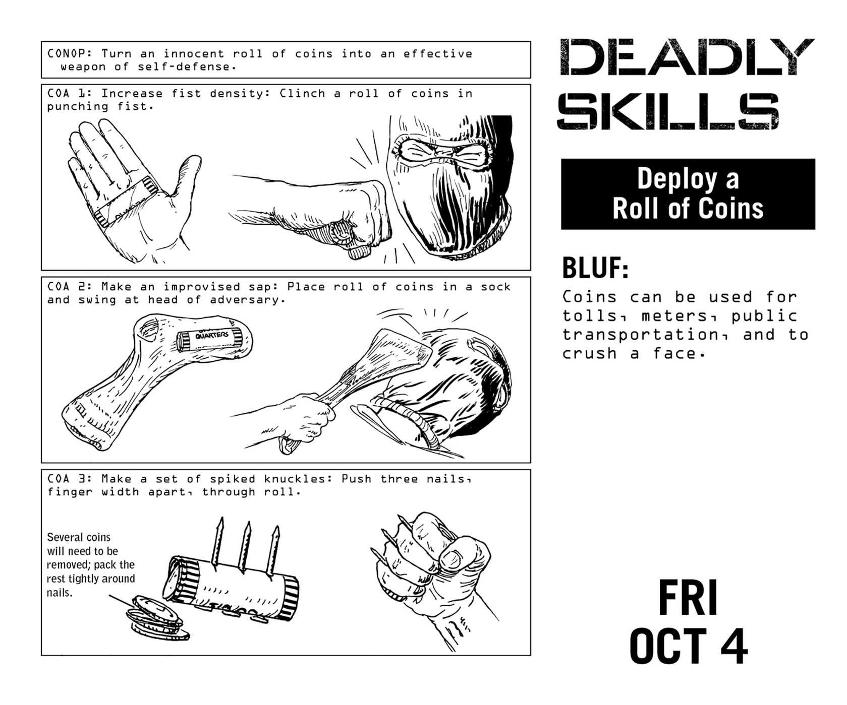 100 Deadly Skills Ebook