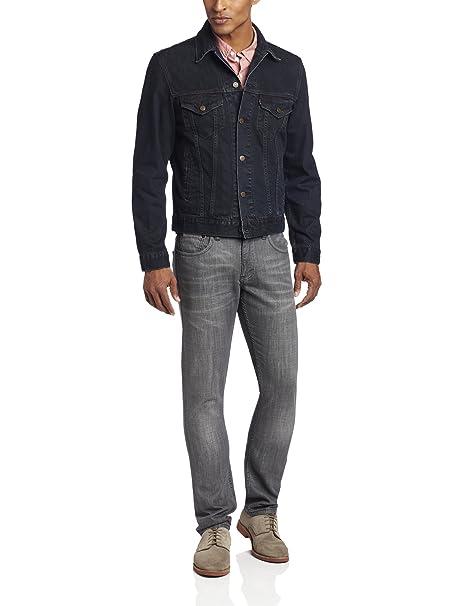 Amazon.com: Levi s chamarra Trucker Jean para hombre: Clothing