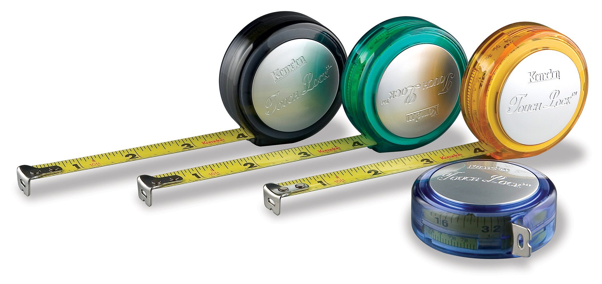 Komelon 3110 10-Foot Touch Lock Tape Measure - 6 Pack by Komelon