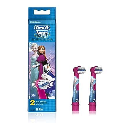 Braun – Cabezal de cepillo cepillo de dientes Oral-B EB10 – 2 de Frozen