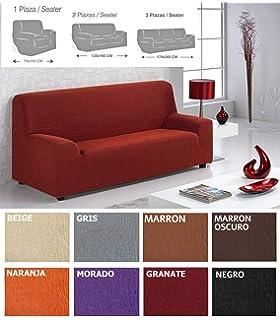 Bartali Funda de sofá elástica Aitana - Color beige -Tamaño ...
