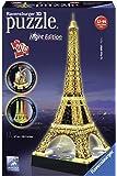 Ravensburger - 3D Puzzle Building Tour Eiffel Night (12579 1)