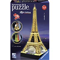 Ravensburger - 3D Puzzle Building Tour Eiffel Night