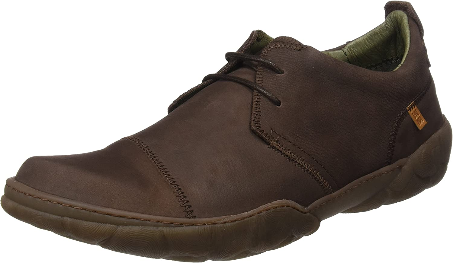 El Naturalista N5080 Pleasant Brown/Turtle, Zapatos de Cordones Brogue para Hombre