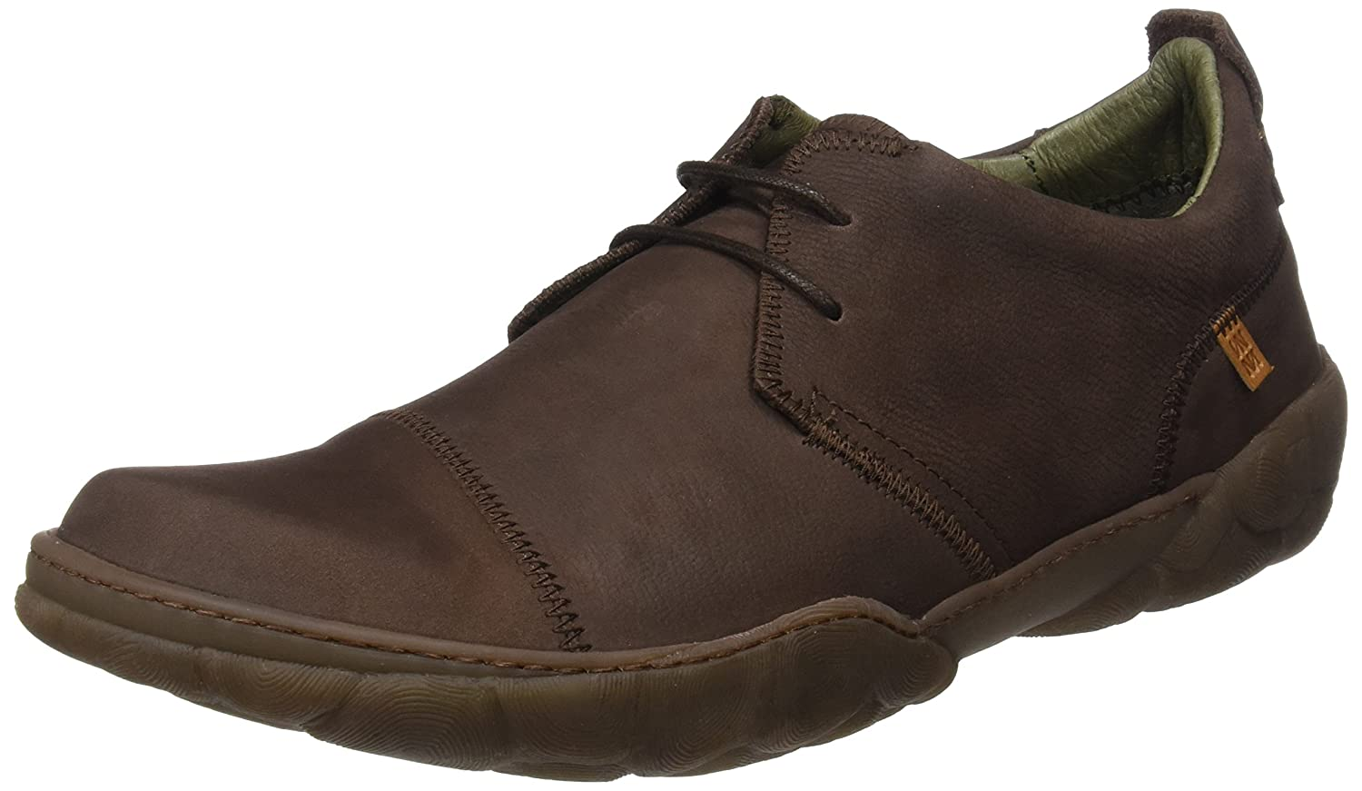 TALLA 42 EU. El Naturalista N5080 Pleasant Brown/Turtle, Zapatos de Cordones Brogue para Hombre