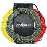 Raqpak Reflective Cord 100 Feet Long Tent Guyline Rope with Carry Pouch (Green)