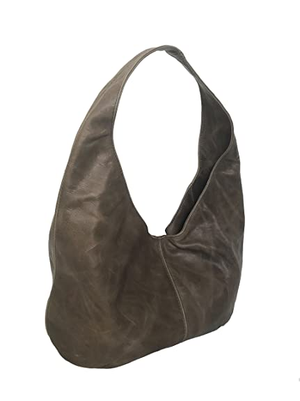 eb2be31b9eab Amazon.com  Fgalaze Distressed Leather Hobo Bag