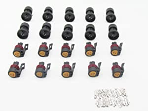 CNKF 10 sets Metri-Pack 150 series 3 pole Honeywell 100 150 250 PSI Oil/Fuel pressure sensor 12078090 with terminals