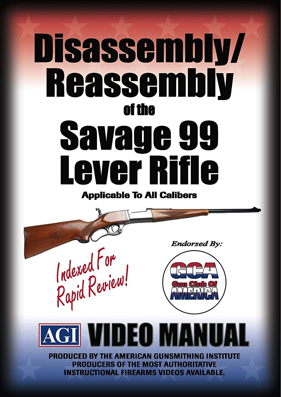 Amazon Disassemblyreassembly Of The Savage 99 Lever Rifle