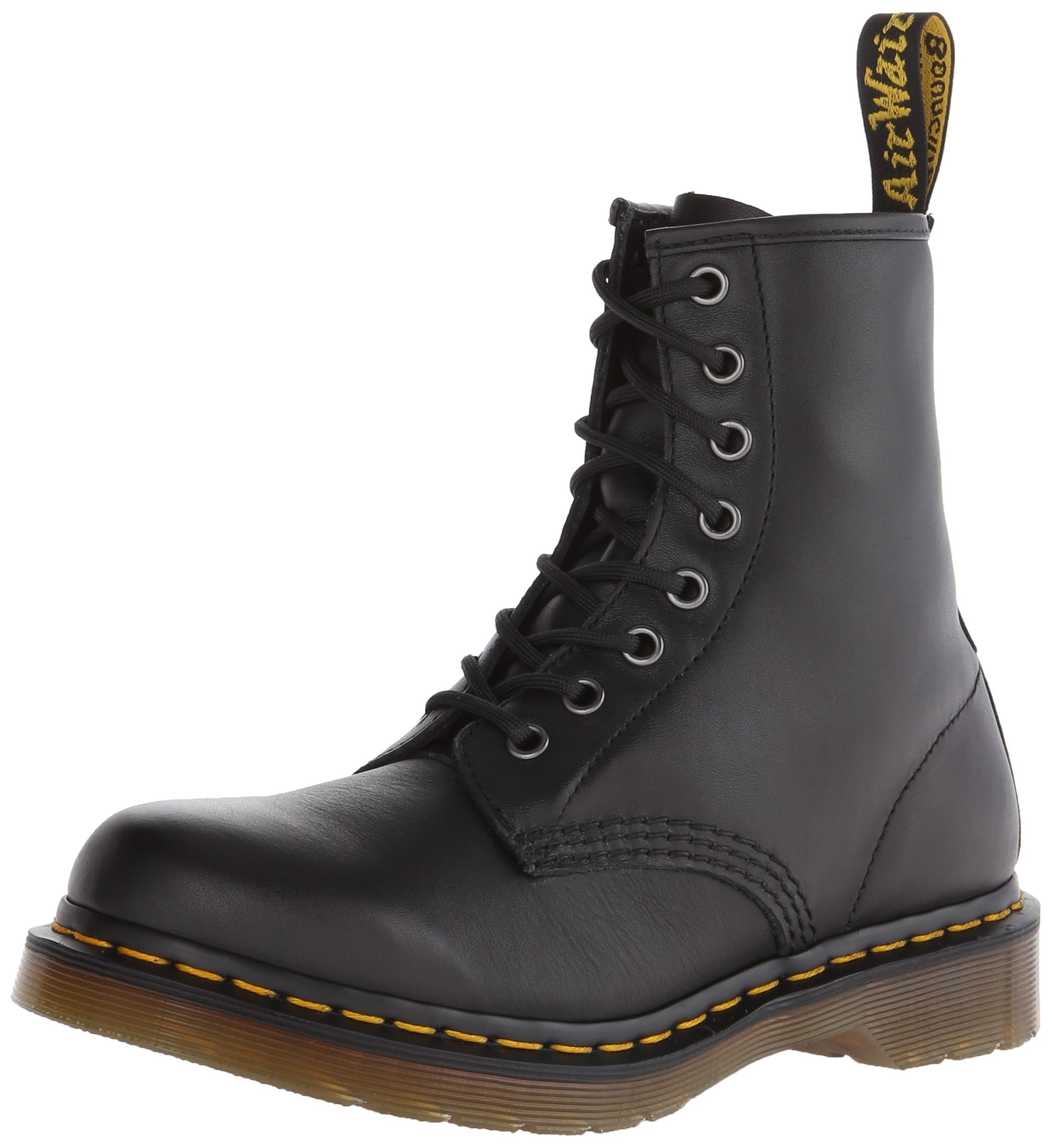 Dr. Martens Women's 1460 W 8 Eye Boot, Black, 6 M US/4 UK by Dr. Martens