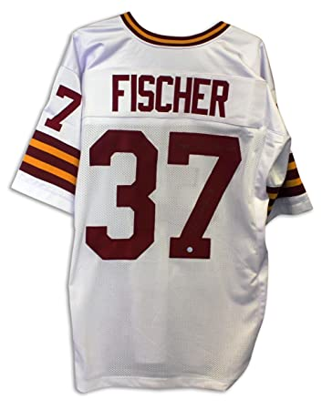 At Washington White 70 Fischer Nfl Greatest