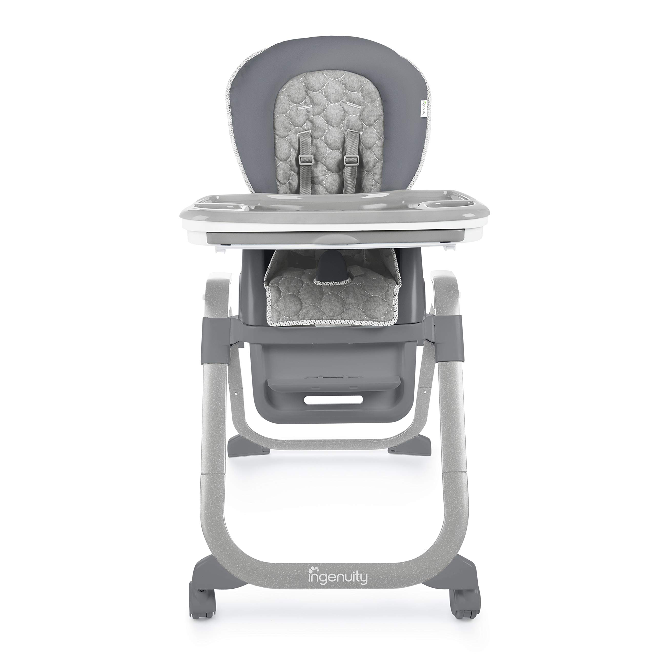 Ingenuity SmartServe 4-in-1 High Chair with Swing Out Tray - Connolly - High Chair, Toddler Chair, and Booster by Ingenuity