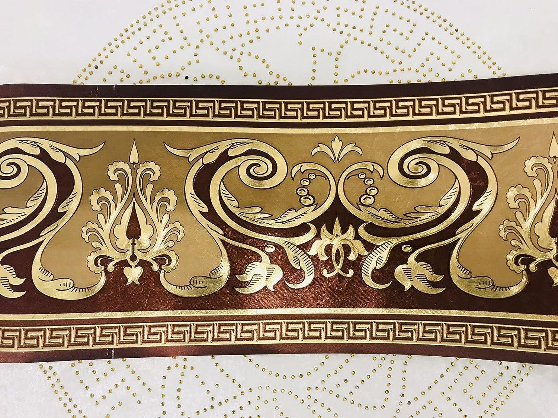 Home Bordü re Medusa Lorbeer gold Band Tapete Medusa Style 5 Meter Rolle NEU TOP Jas-Min