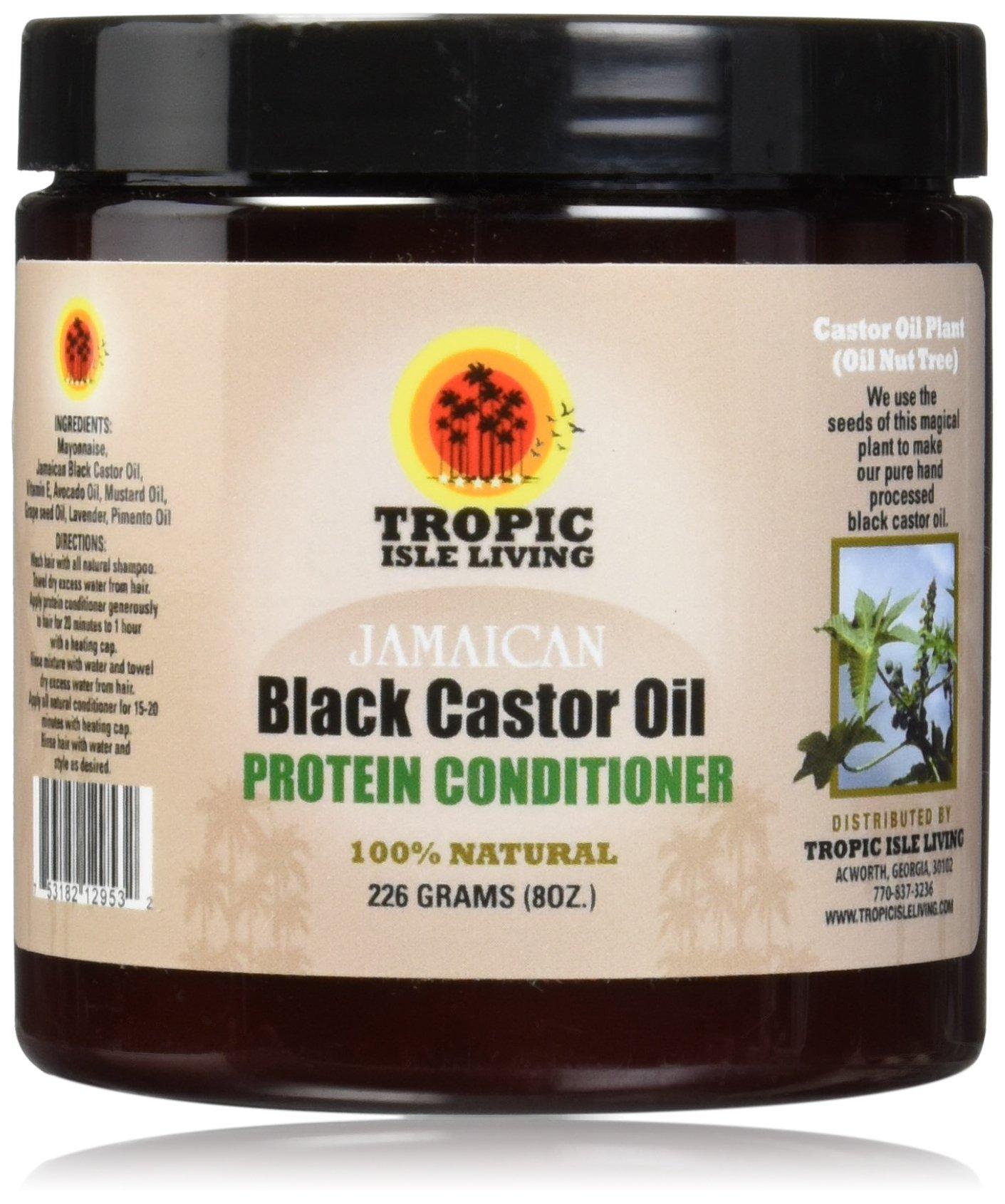 Tropic Isle Living Jamaican Black Castor Oil Protein Conditioner 8oz