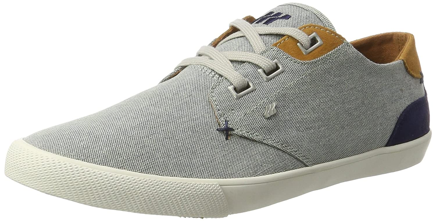 Mens Stern Sh Oxfs/SDE NVY/Tan Trainers Boxfresh