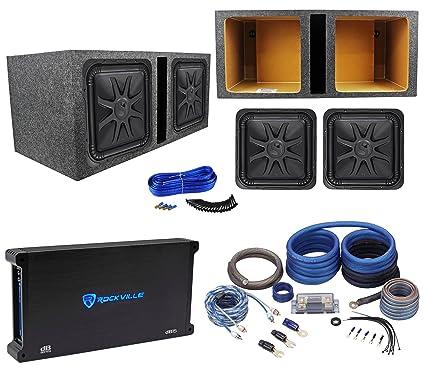 Awesome Amazon Com 2 Kicker 44L7S152 15 4000 Watt Solobaric L7S Wiring 101 Hemtstreekradiomeanderfmnl