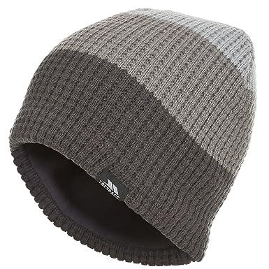 f1d4179958c Trespass Mens Chellew Beanie Hat (One size) (Carbon)  Amazon.co.uk  Clothing