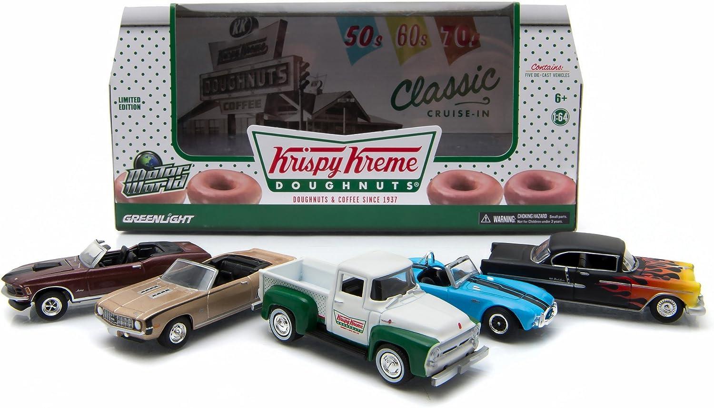 1968 CHEVROLET c10 con Krispy Kreme Food trailer Edition Greenlight 1:64 lim