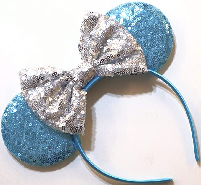 Olaf Minnie Ears CLGIFT Frozen Inspired Minnie Mouse Ears Headband Olaf