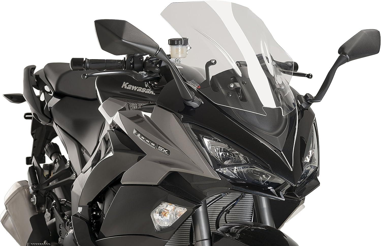 Puig Racing Screen Color Transparent 9408W for Kawasaki Z1000SX 17-18