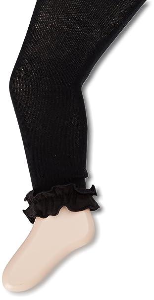 cae352c37 Amazon.com  Jefferies Socks Girls  Pima Ruffle Footless Tight  Clothing