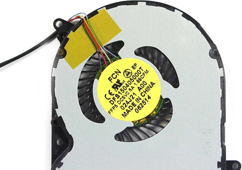 Dell Venue 11 Pro 7130 7139 DFS150405000T 5V 0.5A Cooling Fan 24J21 CN-024J21 024J21