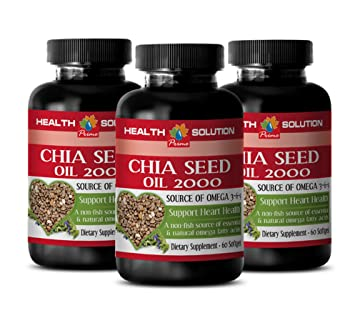 Amazon.com: Aceite de Chia – Chia Seed Oil 2000 ...