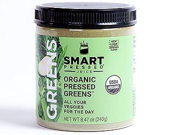 Smart Pressed Organic Green Superfood Powder Juice Cleanse