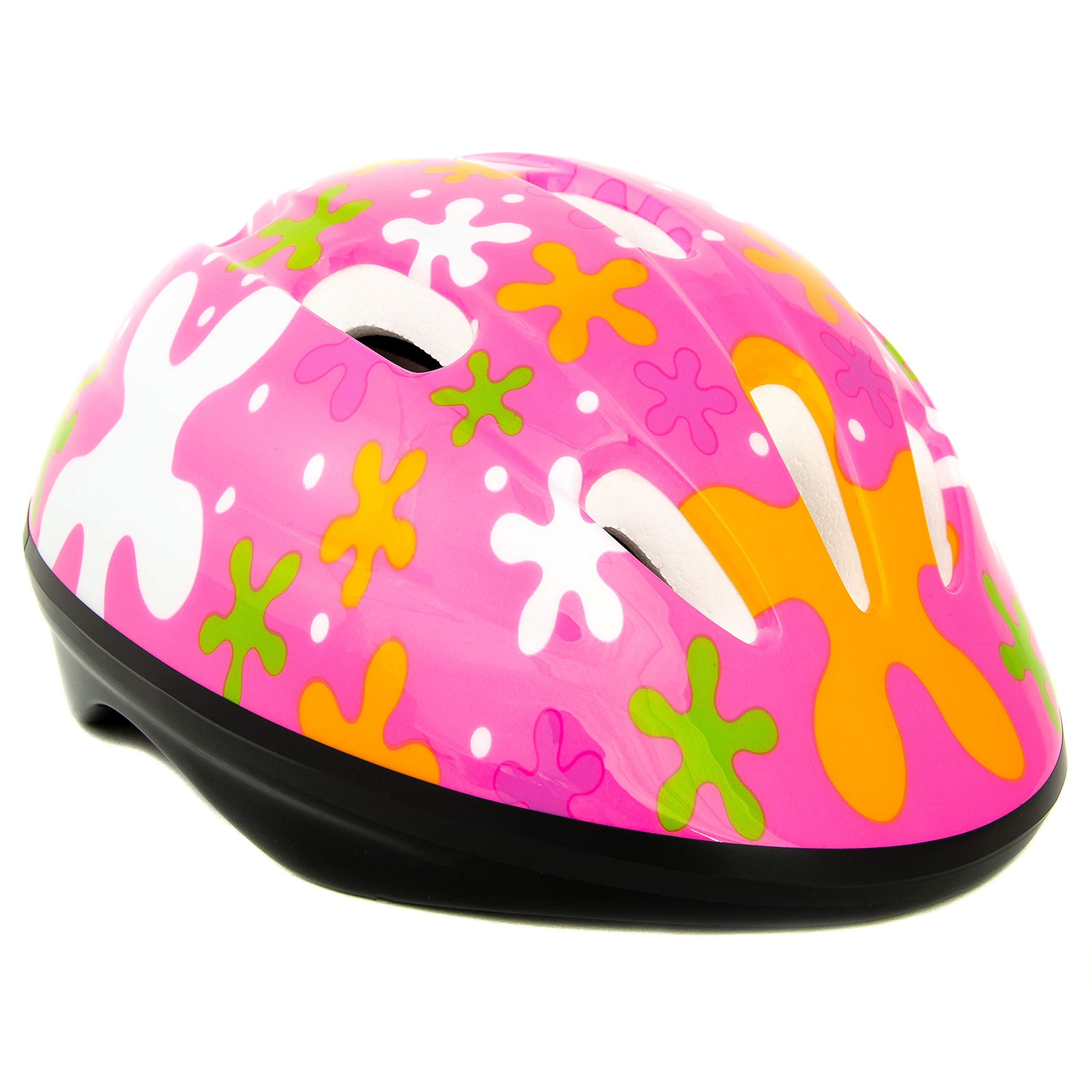 Baby Solo Toddler Bike Helmet   Lightweight, Safe, Adjustable, Vented, CSPC Certified   2-5 Years Old Boy and Girl Colors (Cutie Pink)