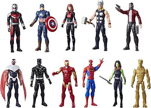 Marvel Titan Hero Serie Mega Collection 11-Pack: Amazon.es: Juguetes y juegos