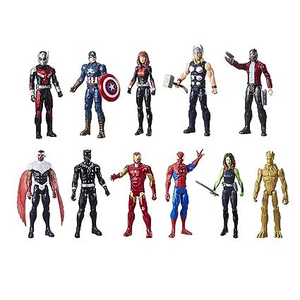 amazon com marvel titan hero series mega collection 11 pack toys
