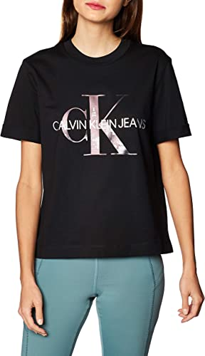 Calvin Klein New York Print CK tee Camisa para Mujer: Amazon.es: Ropa y accesorios