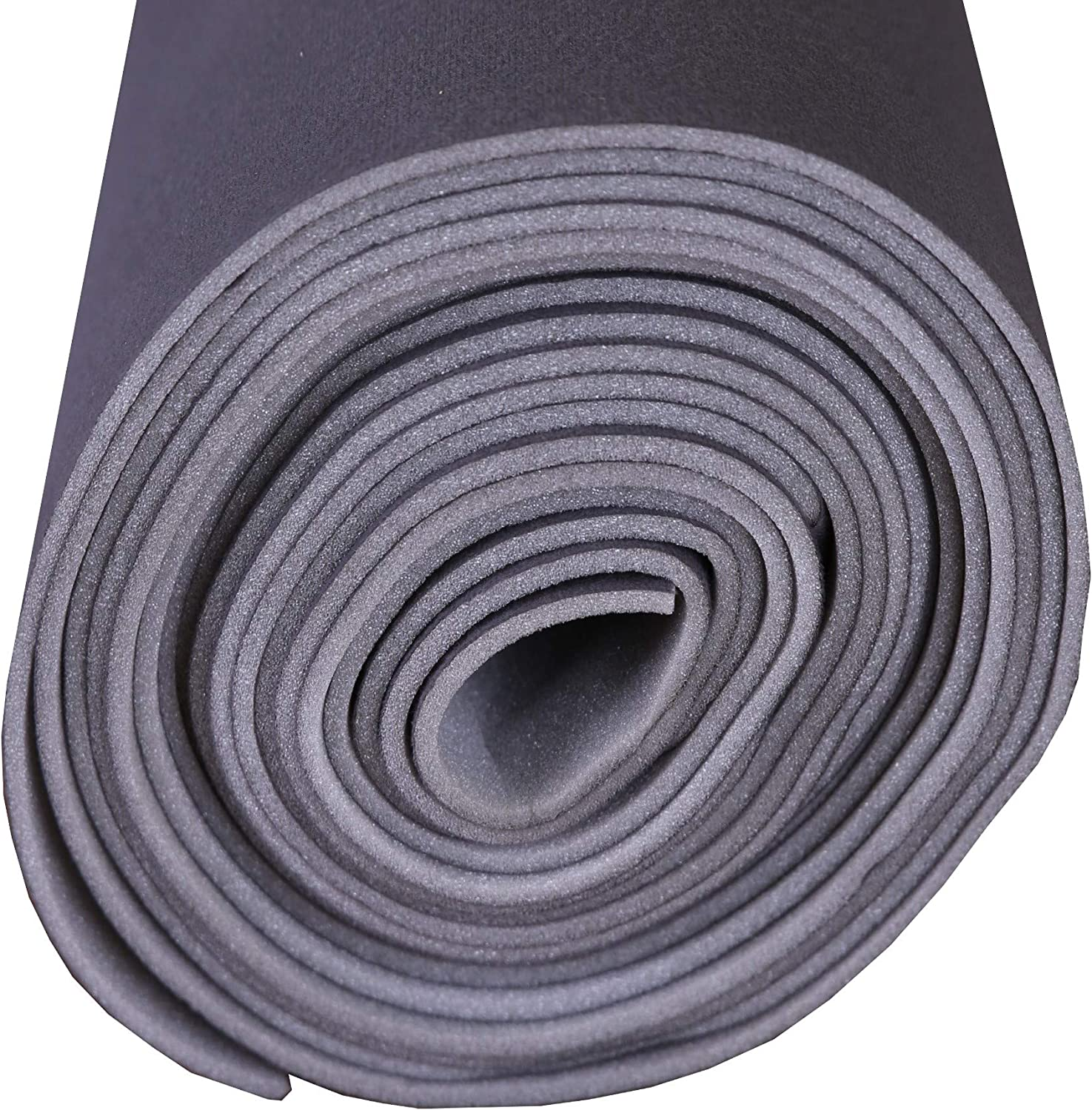 60 x 60 Dk Gray Auto Headliner Ceiling Fabric Material 3//16 Foam Backing