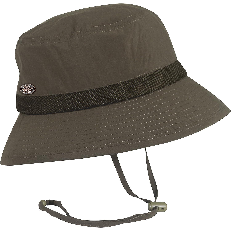 Turtle Fur渡り廊下バケット、軽量Packable Bucket Hat with Chin Cord  ブラウン B011VYKBRA